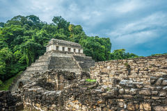 Ruins of Palenque, Mexico Stock Photography
