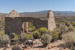 Ruins at Palmetto, California Stock Photos