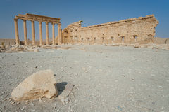 Ruins in Palmira, Syria Royalty Free Stock Photography