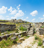 Ruins of Panticapaeum Royalty Free Stock Photo