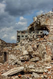Ruins of Paper Mill - Kalety, Poland. Royalty Free Stock Photography