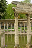Ruins of the Parc Monceau Stock Photography