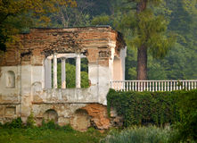 Ruins in the park Royalty Free Stock Photos
