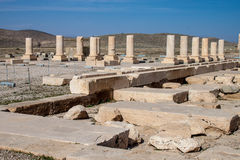 Ruins of Pasargadae Stock Photography