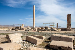 Ruins of Pasargadae Royalty Free Stock Photography