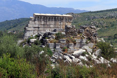 Ruins in Patara Royalty Free Stock Photo