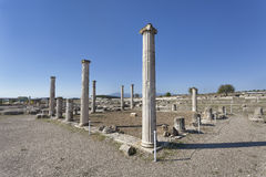Ruins in Pella, Greece Royalty Free Stock Photo