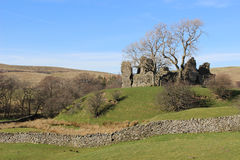 Ruins of Pendragon Castle, Mallerstang, Cumbria Stock Photos
