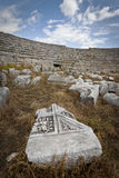 Ruins at Perga in Turkey Stock Images
