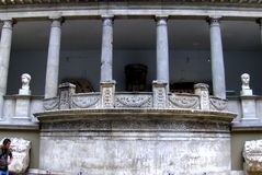 Ruins of Pergam. Pergamon Museum in Berlin Royalty Free Stock Image