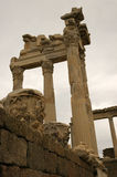 Ruins of Pergamon. Ancient ruins of Pergamon Stock Images