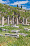 Ruins of Pergamon Bergama Turkey Stock Photos