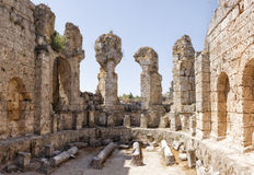 Ruins of Perge Royalty Free Stock Photo