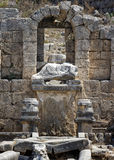 Ruins of Perge Royalty Free Stock Photography