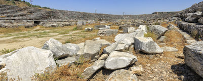 Ruins of Perge Stock Photos