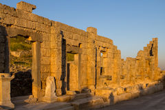 Ruins at Perge, Turkey Stock Photography