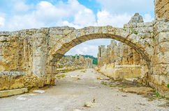 The ruins of Perge Stock Photos
