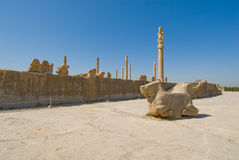 Ruins of of Persepolis Stock Images