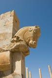 Ruins of of Persepolis royalty free stock photo