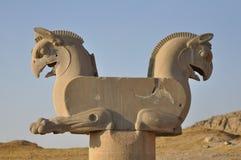 Ruins of of Persepolis Stock Image