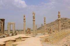 The ruins of Persepolis (Iran) royalty free stock photography