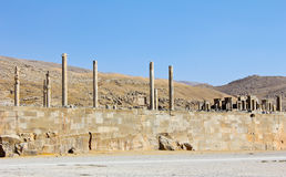 Ruins of Persepolis,Shiraz Royalty Free Stock Photography