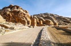 Ruins of Petra Royalty Free Stock Image