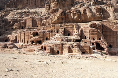 Ruins of Petra Royalty Free Stock Photo