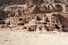 Ruins of Petra Royalty Free Stock Photo