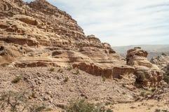 Ruins of Petra Royalty Free Stock Photography