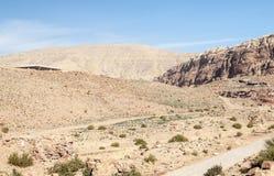 Ruins of Petra Royalty Free Stock Photos