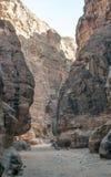 Ruins of Petra Stock Photos