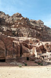 Ruins of Petra Stock Images