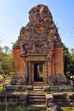 Ruins of Phnom Bakheng Temple at Angkor Wat complex Royalty Free Stock Photos