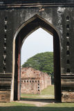 Ruins at Phra Narai Rachanivej - famous palace in Lopburi, Thail Stock Photos
