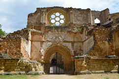 Ruins in the Piedra Monastery Royalty Free Stock Images