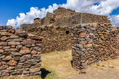 Ruins of Pisac, Sacred Valley, Peru Royalty Free Stock Photo