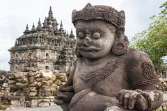 Ruins of Plaosan temple complex, Java island Royalty Free Stock Image
