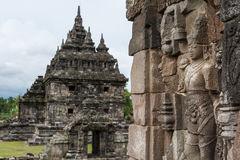 Ruins of Plaosan temple complex, Java island Stock Photography