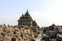 Ruins Of Plaosan Temple in Java Island, Indonesia.  Royalty Free Stock Photo