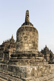 Ruins Of Plaosan Temple in Java Island, Indonesia.  Royalty Free Stock Image