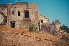 Ruins of Poggioreale Stock Image