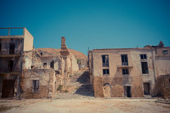 Ruins of Poggioreale Royalty Free Stock Photo