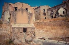 Ruins of Poggioreale Royalty Free Stock Photos