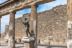 Ruins of Pompei Royalty Free Stock Photography