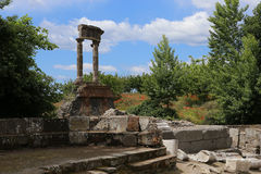 Ruins of Pompei, near Naples, Italy Stock Photos