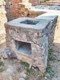 Ruins of Pompeii, ancient Roman city. Pompei, Campania. Italy. stock photos