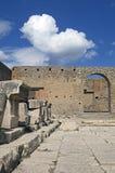 Ruins of Pompeii Stock Photography
