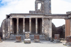 Ruins of Pompeii. Stock Images