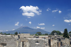 Ruins at Pompeii, Italy Royalty Free Stock Photos